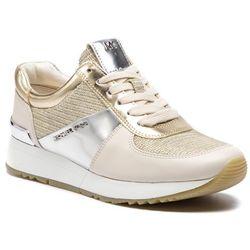 07b792a4e179f Sneakersy MICHAEL MICHAEL KORS - Allie Trainer 43R9ALFS2D Wht Gld Chmp