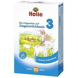 Holle Mleko 3 BIO na bazie mleka koziego dla niemowląt od 10. miesiąca 400g