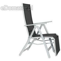 Krzesło ogrodowe LAGUNA 7 pozycji z podnóżkiem