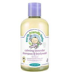 - EARTH FRIENDLY BABY - Organiczny szampon i płyn do mycia 2w1 z aromatem LAWENDA