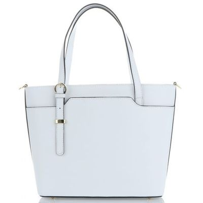 5368807560c38 Vittoria gotti Elegancka torebka skórzana na każdą okazję firmy biała  (kolory)