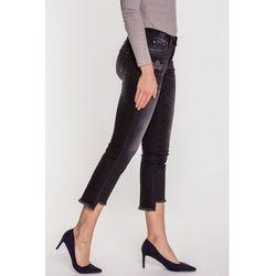 b9f25ad1b719e0 Czarne jeansy cieniowane TATIANA, jeans