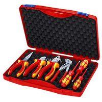 6dfb881712bec KNIPEX Walizka narzędziowa dla elektryków, 7 części (00 21 15)