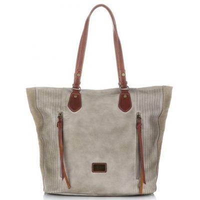 527afc42aa6dd David jones Oryginalne torebki damskie xl w stylu vintage na każdą okazję  beżowe