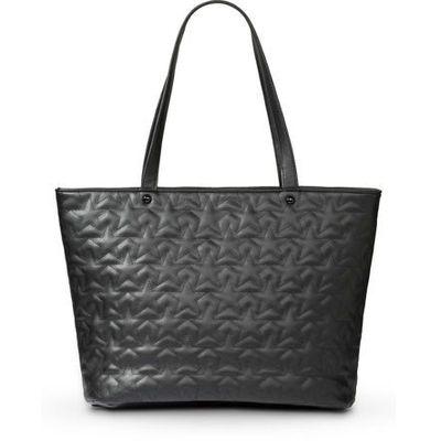 c41d76e67feb8 Torba shopper w pikowany wzór bonprix czarny