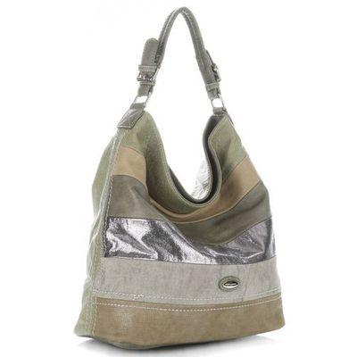 c95113e4a150d David jones Uniwersalna torba damska w rozmiarze xl na każdą okazję firmy  khaki
