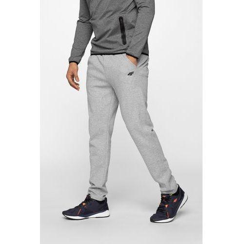 31f2d3d14 Spodnie dresowe męskie SPMD302 - chłodny jasny szary melanż, kolor szary