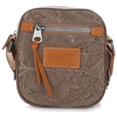 af4cabcefa4f7 Małe torebki damskie listonoszki firmy brązowe (kolory) marki David jones