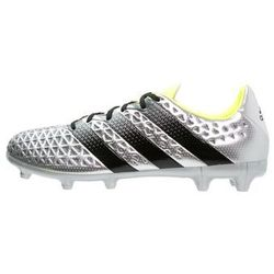 adidas Performance ACE 16.3 FG Korki Lanki silver metallic/core black/solar yellow