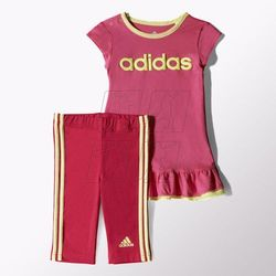 Komplet adidas Girls Dress Set Kids S21461