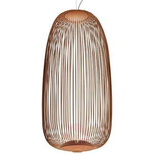 Czarna kryształowa lampa wisząca APTA, 15 cm porównaj