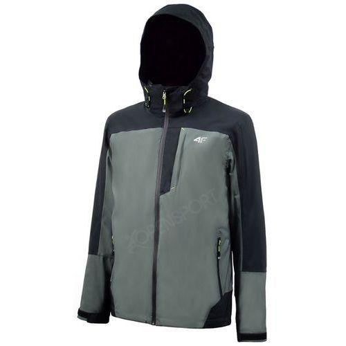3b3860459ca49 4f Męska kurtka trekkingowa 3w1 z softshellem z15 kumt001 grafit m Cena od0,00  zł