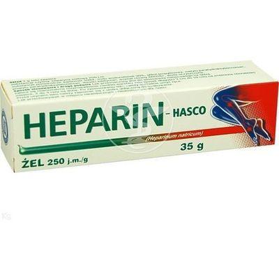 zel na zylaki z heparyna w