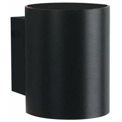 Light prestige Lampa ścienna oregon lp 1061w bk metalowa oprawa loftowy kinkiet tuba czarna