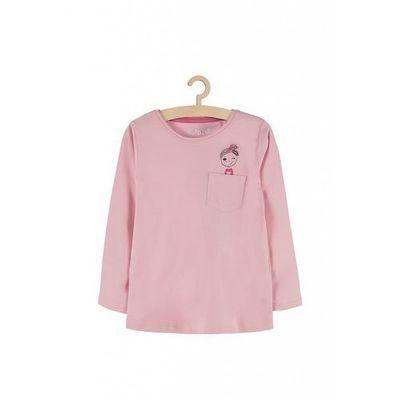 Bluzka dla dziewczynki różowa 3h3714 marki 5.10.15.