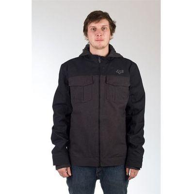 357bce91faa94 kurtka FOX - Straightaway Jacket Heather Black (243)