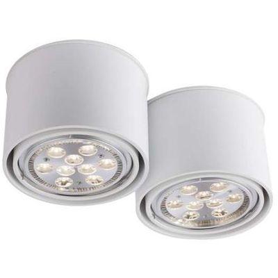łazienkowa Lampa Sufitowa Miki 1118g53bi Shilo Natynkowa Oprawa Downlight Spot Biały 1118g53bi