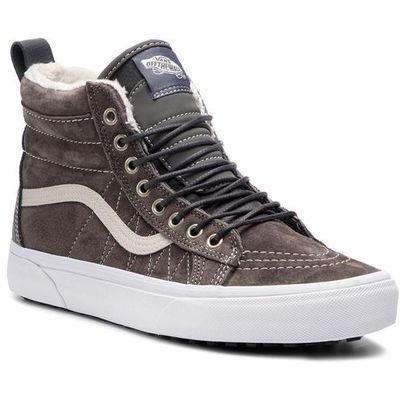 Sneakersy sk8 hi mte vn0a33txuqb1 (mte) pewterasphalt marki Vans