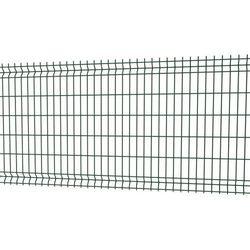 Betafence Panel ogrodzeniowy 3d 123 x 250 cm oczko 5 x 20 cm drut 4 mm ocynk zielony