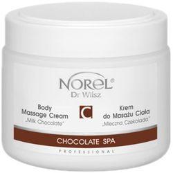 chocolate spa body massage cream milk chocolate krem do masażu ciała mleczna czekolada (pb187) marki Norel (dr wilsz)