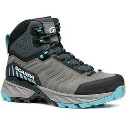 Scarpa rush trek gtx shoes women, szary/niebieski eu 38,5 2021 trapery turystyczne (8057963161110)