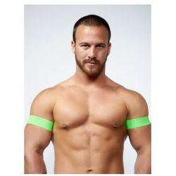 MrB URBAN Club Biceps Bands Neon Green