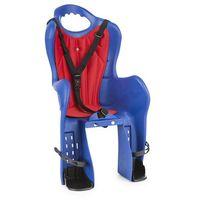 Foteliki rowerowe, Fotelik rowerowy KROSS na bagażnik Elibas 014BL niebieski