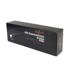 Folia JetWorld Czarny Panasonic KX-FA55 (2 szt.) zamiennik KXFA55E, 2*164 stron