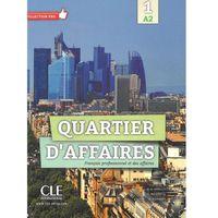 Książki do nauki języka, Quartier d'affaires 1 A2 podręcznik /CD gratis./ (opr. miękka)