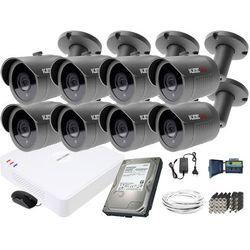 ZM11842 Zestaw do monitoringu 8 kamery IR 30m Rejestrator Hikvision FullHD Dysk 1TB