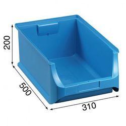 Warsztatowe pojemniki z tworzywa sztucznego - 310 x 500 x 200 mm