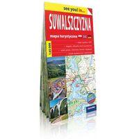 Mapy i atlasy turystyczne, Suwalszczyzna- mapa turystyczna 1: 85 000 papier - . (opr. broszurowa)