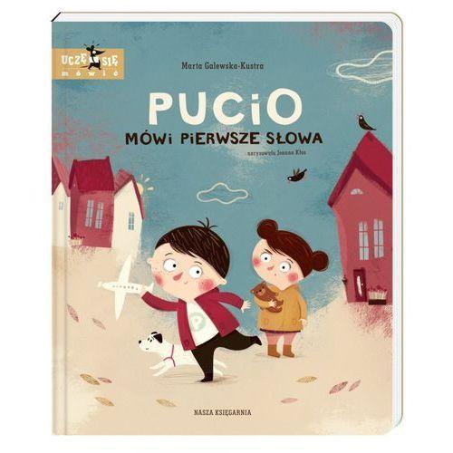 Książki dla dzieci, Pucio mówi pierwsze słowa (opr. twarda)