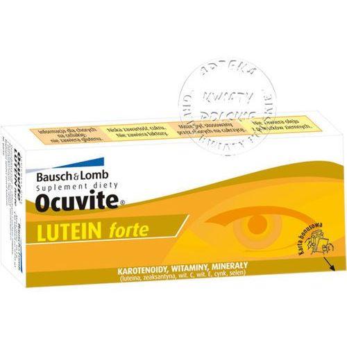 Leki poprawiające wzrok i słuch, Ocuvite Lutein forte 60 tabl.