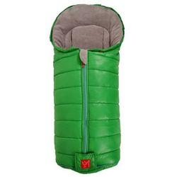 Śpiworek SHINNY Kaiser zielony z zielonym zamkiem