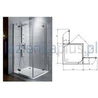 Kabiny prysznicowe, Radaway Almatea kdd 80 x 100 (32181-01-01N)