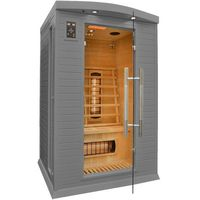 Sauny, Sauna InfraRed CP2 GS Szara Koloroterapia
