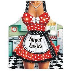 Fartuch groszki Super Laska