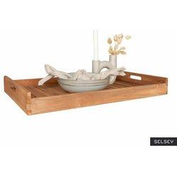 SELSEY Taca drewniana Erlus 58x38 cm