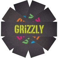 Pozostały skating, grip GRIZZLY - Blurry Griptape5 Pack Blk (BLK) rozmiar: OS