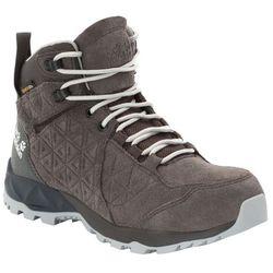 Wysokie buty trekkingowe CASCADE HIKE LT TEXAPORE MID W dark steel / phantom - 7