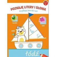 Książki dla dzieci, Poznaję litery i słowa Przyklejaj baw się i ucz - Praca zbiorowa (opr. broszurowa)