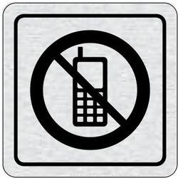 Tabliczka na drzwi -Zakaz uzywania telefonów
