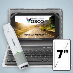 """Vasco Traveler Premium 7"""" z klawiaturą i skanerem"""