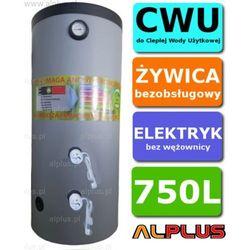 Elektryczny bojler 750L 6kW (2 grzałki po 3kW lub inne do wyboru) Ermet, Ogrzewacz wody pionowy stojący, bezobsługowy, 750 litrów, 210cm x 89cm, Wysyłka gratis