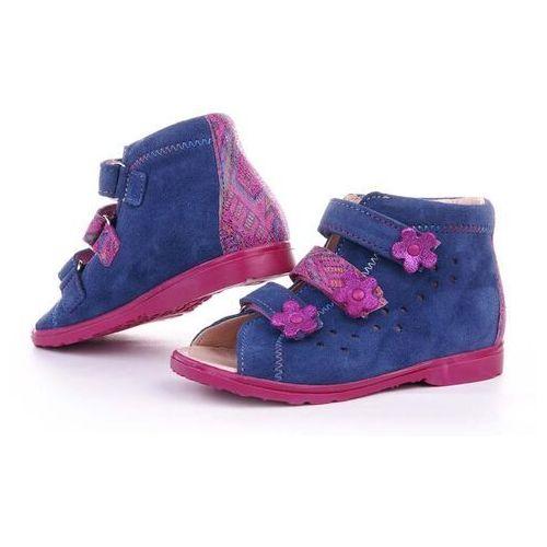 Buty profilaktyczne dla dzieci, Buty korekcyjne Dawid dziewczęce 1041 GJMZ