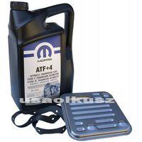 Filtry oleju do skrzyni biegów, Olej MOPAR ATF+4 oraz filtr automatycznej skrzyni 4SPD Dodge Caravan AWD 2008-