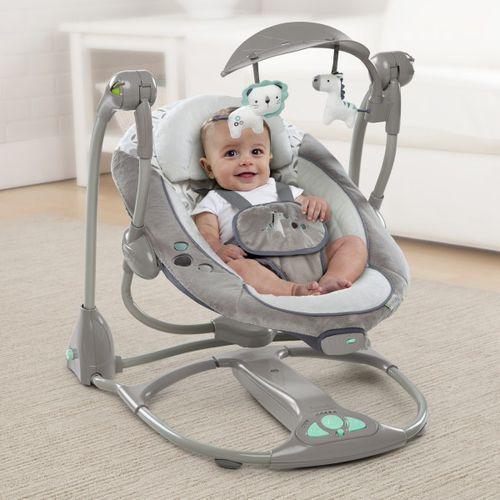 Huśtawki dla niemowląt, HUŚTAWKA HYBRYDOWA ZEBRA - InGenuity