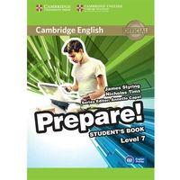 Książki do nauki języka, Cambridge English Prepare! Level 7 Student's Book*natychmiastowawysyłkaod3,99 (opr. miękka)