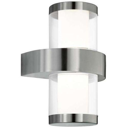 Lampy ścienne, Zewnetrzna LAMPA ścienna BEVERLY 1 94799 Eglo OPRAWA elewacyjna LED 7,4W kinkiet IP44 outdoor biały